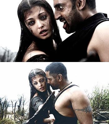 Raavan Hindi and Tamil movie stills