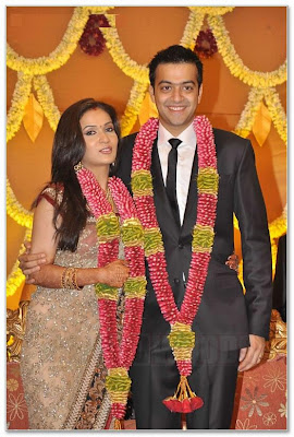 Superstar Rajinikanth's second daughter Soundarya reception photos