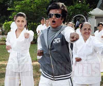 Endhiran new stills