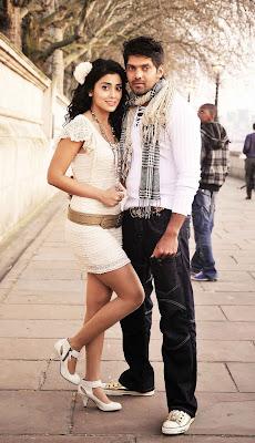 Arya and Shriya hot stills in Chikku Bukku film