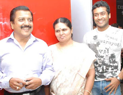 Actor Surya family photos