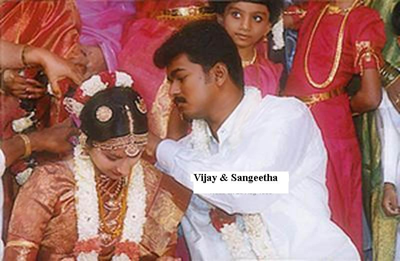 TAMIL CINEMA NEWS: Actor Vijay's marriage stills