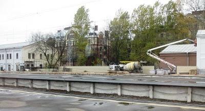 St.Petersburg, railwaystation, Pietari, Laatokan asema