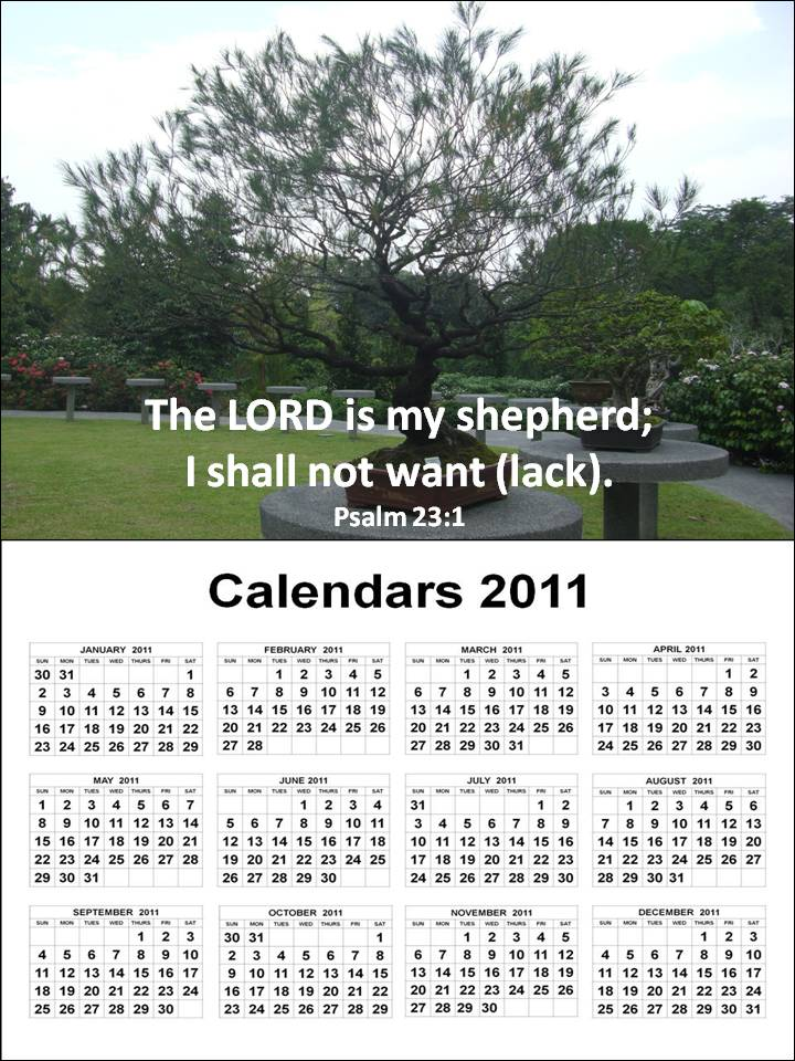 2011 calendar printable monthly. printable monthly bible verse