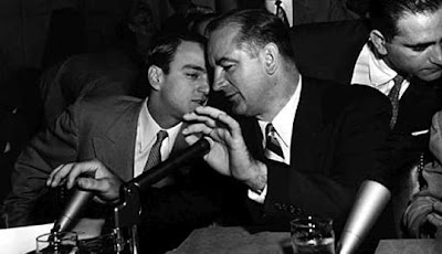 "a witch hunt view of mccarthyism Marco rubio, who says there should be no ""cover-up"" — but no ""witch hunt""  either no matter how shrill the democrats' mccarthyism."