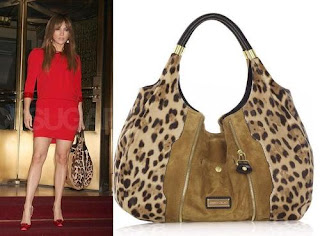 Jennifer Lopez with Jimmy Choo Mandah Hobo