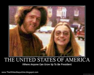 hillary and bill hippies