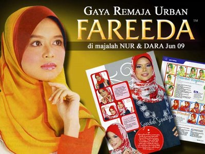 Fareeda @ majalah NUR & DARA