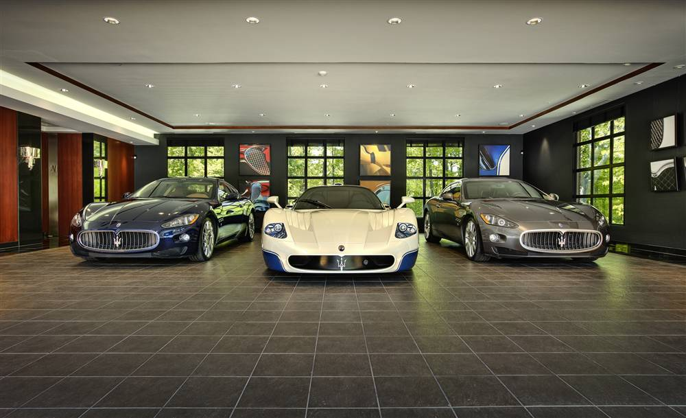 Beautiful Car Garage