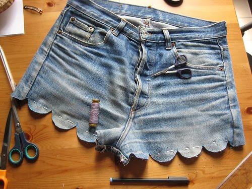 Как сделать короче штаны