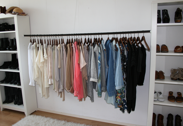 diy wardrobe rehab project step 4 organising your. Black Bedroom Furniture Sets. Home Design Ideas