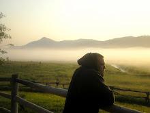 Foggy morn in Jackson Hole