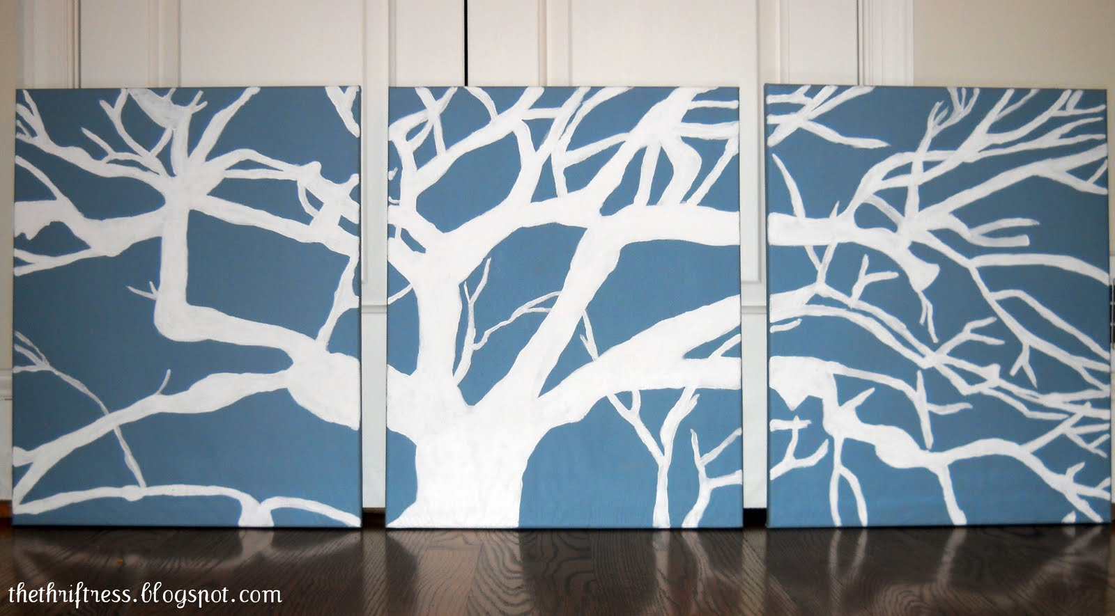 The Thriftress: DIY Wall Art - My Masterpiece