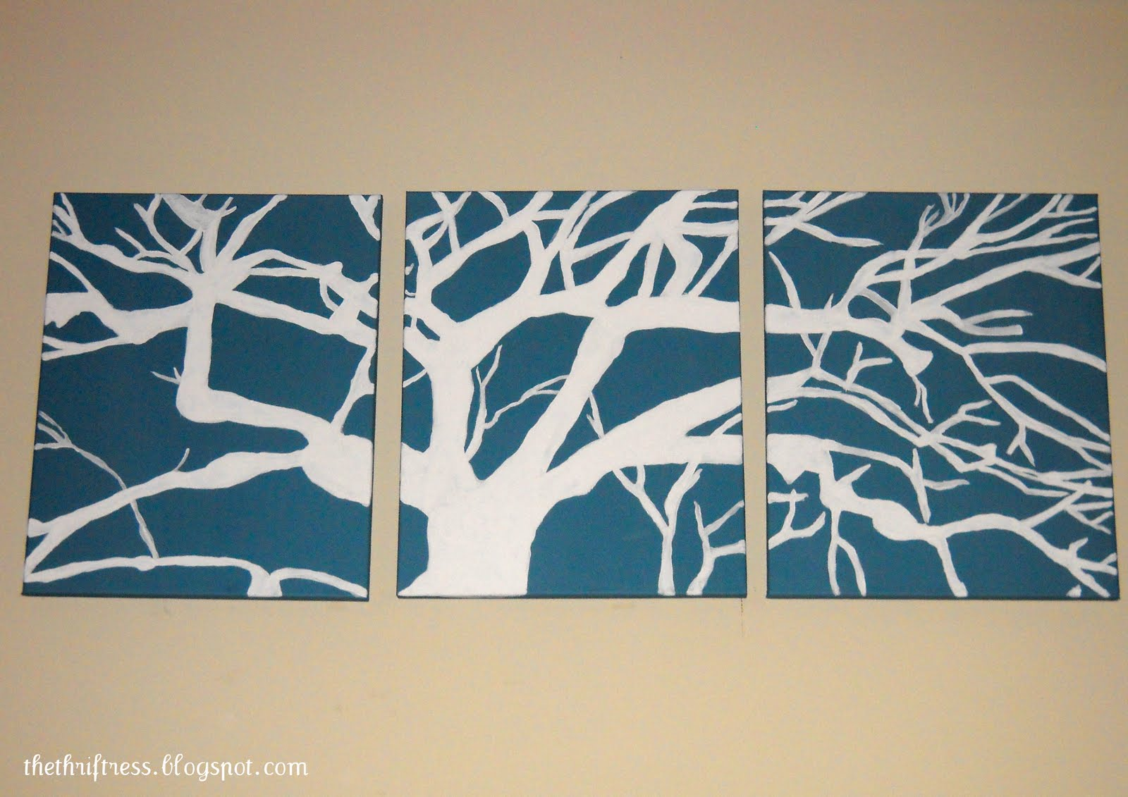 Diy Canvas Wall Art Vertical Home Garden