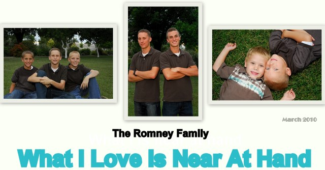 The Romney Family