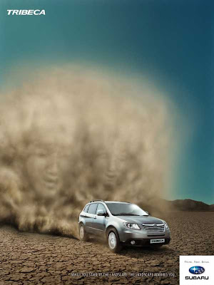 Advertising Archive Of World Best Creative Ads Subaru All Suv