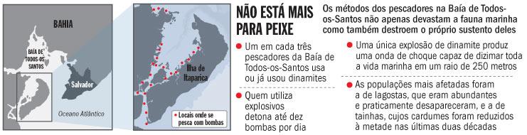 o mapa das bombas