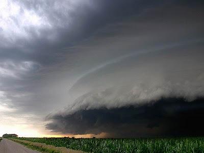 Photo of hurricane katrina