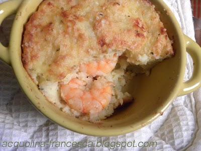 Acquolina gamberi e patate una quasi parmentier for Cerco cose usate