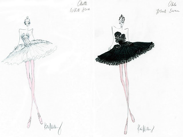 Black Swan and her tutu