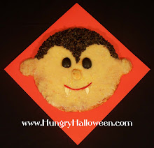 Halloween Recipes - Count Pizzala Vampire Pizza