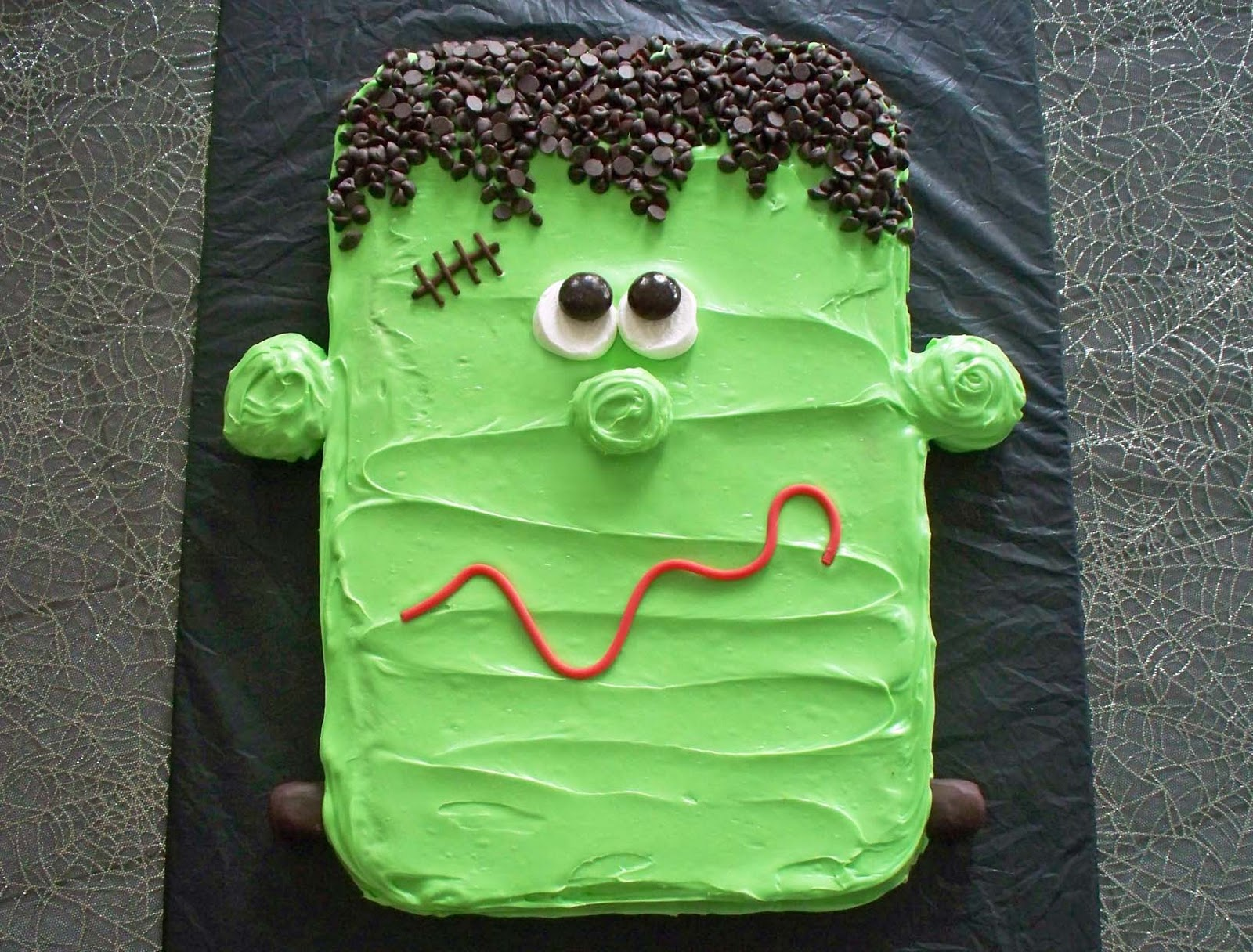 Frankenstein Cookie Halloween Dessert Hungry Happenings