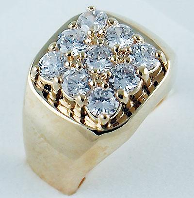 кольца из серебра, мужские перстни