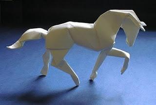 кто-нить скиньте мне схему лошади из оригами.Не оч сложную..и львы.