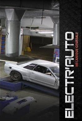 Travail de mécanique chez Electr'Auto