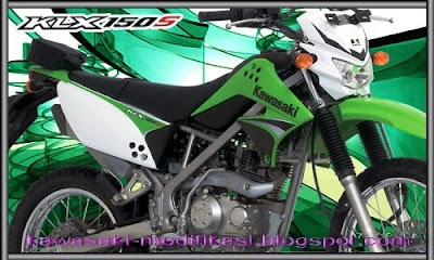 New Motorcycle Modification  Motor Cross kawasaki KLX 150cc