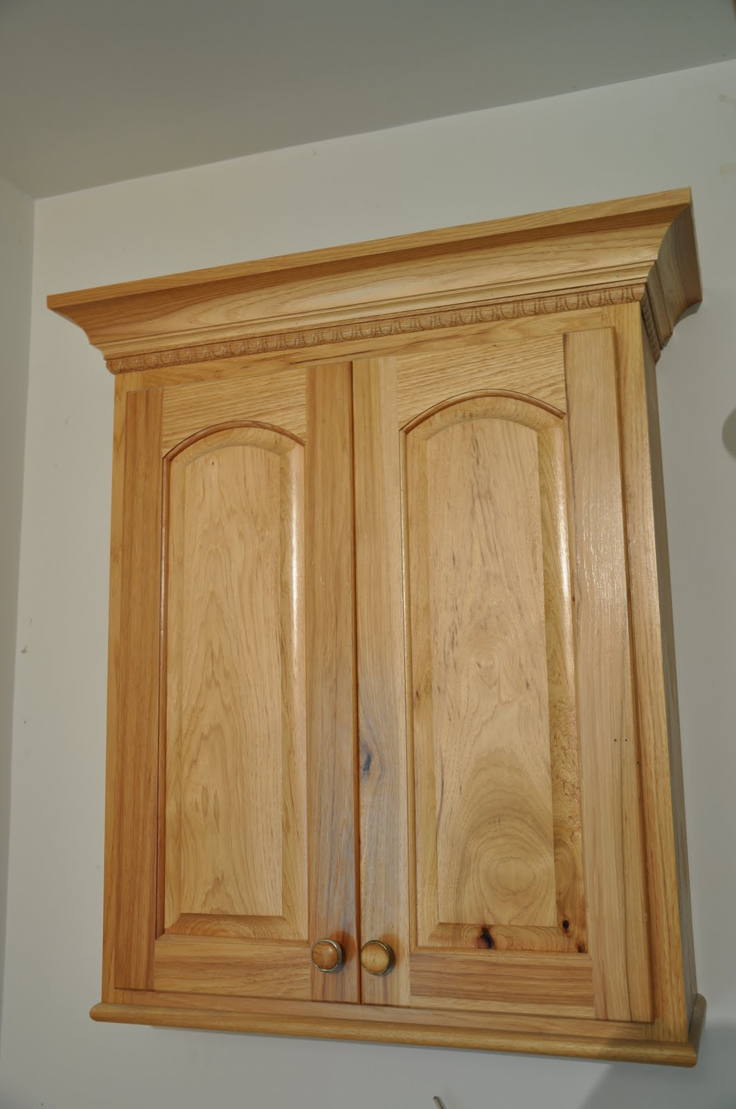 Rustic Hickory Bathroom Cabinets