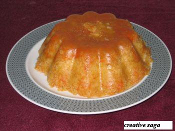 carrot apple microwave cake