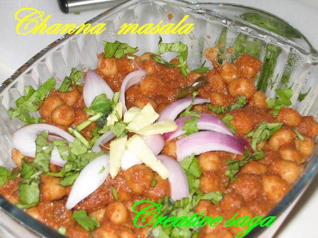 Channa/chole masala