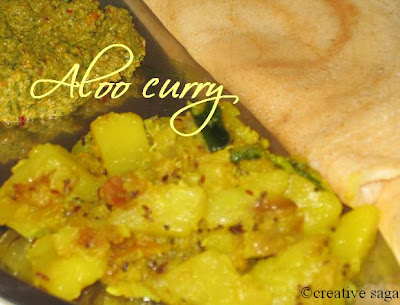 simple aloo curry