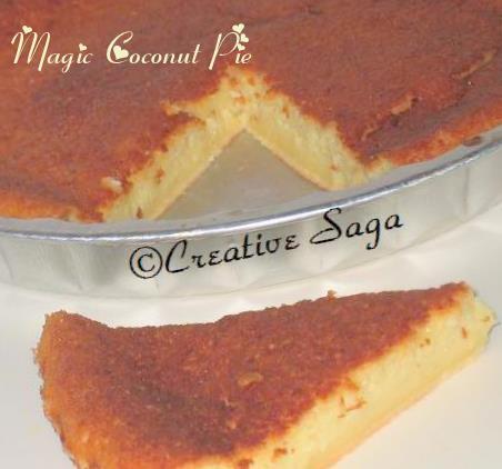 magic coconut pie