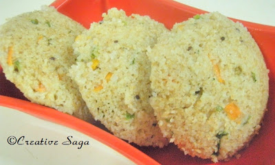 cracked wheat idlis