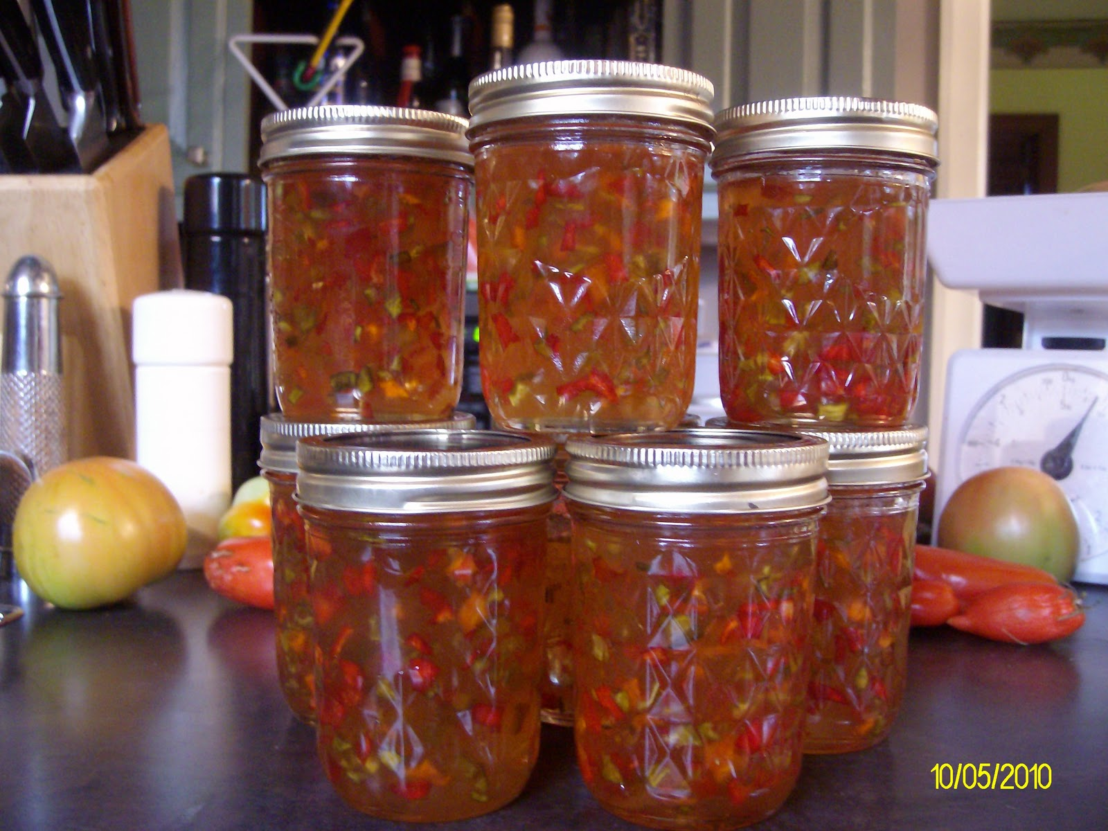 The Gardener of Eden: Hot Pepper Jelly