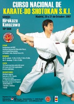 Ikken hissatsu curso de karate do shotokan s k i por el for Curso de escaparatismo madrid