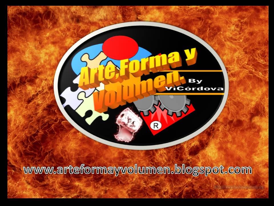 ARTE,FORMA Y VOLUMEN