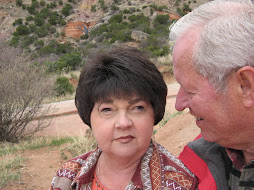 Brenda and Ted in Palo Duro Canyon