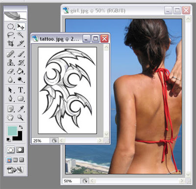 Tattoo design software