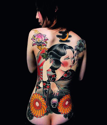 Japan Women Tattoo Design