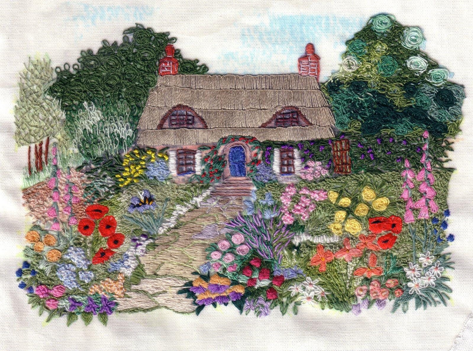 Pierrette 39 S Stitching Gallery Ivy Cottage Di Van Niekerk