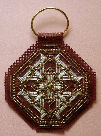 Designer: Gay Ann Rogers. Type of needlework: Needlepoint. Photos: 2