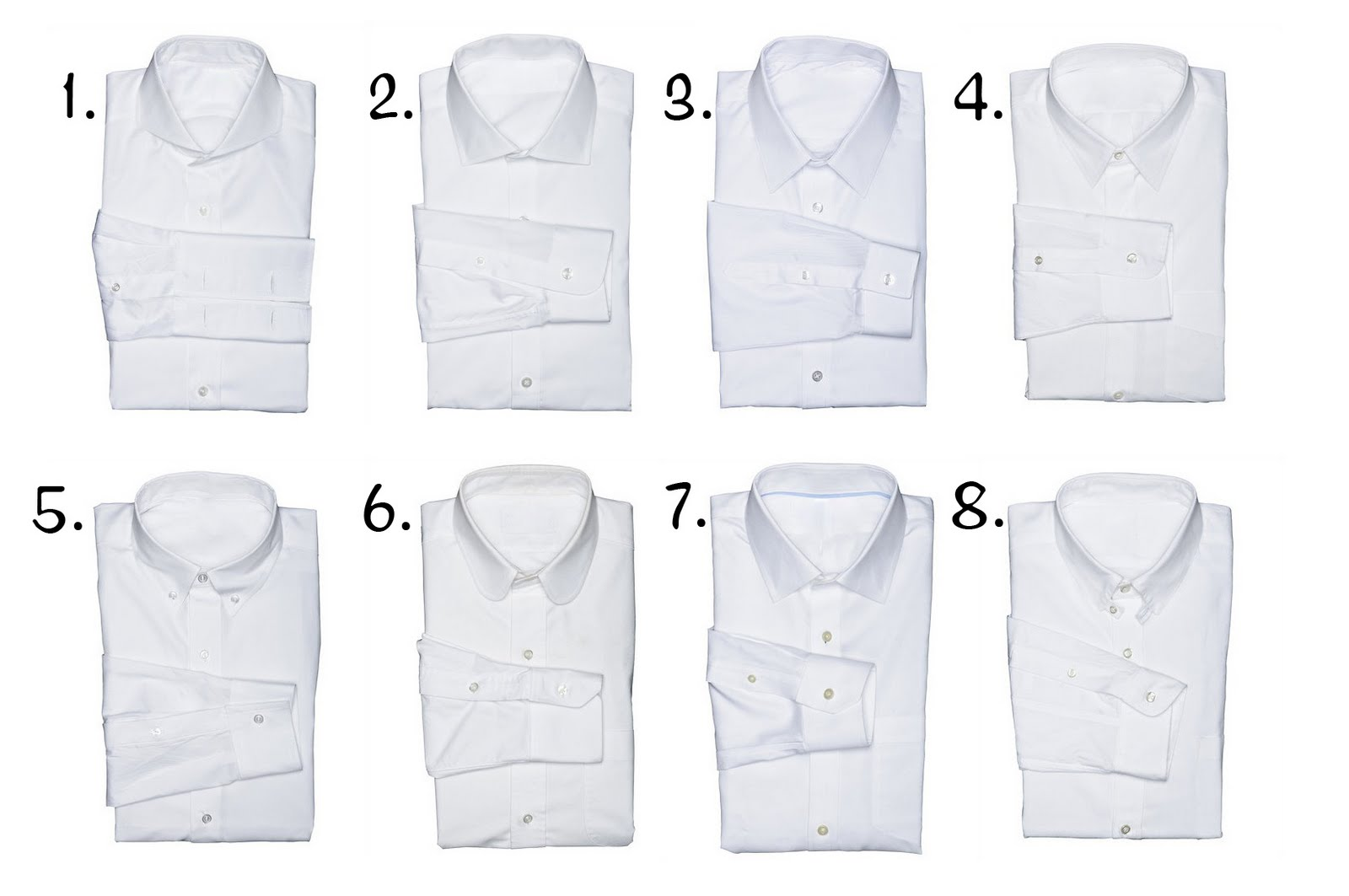 Cindy and the Balsam Tailors: Dress Shirt 101: Collar Types