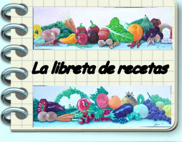 La libreta de recetas