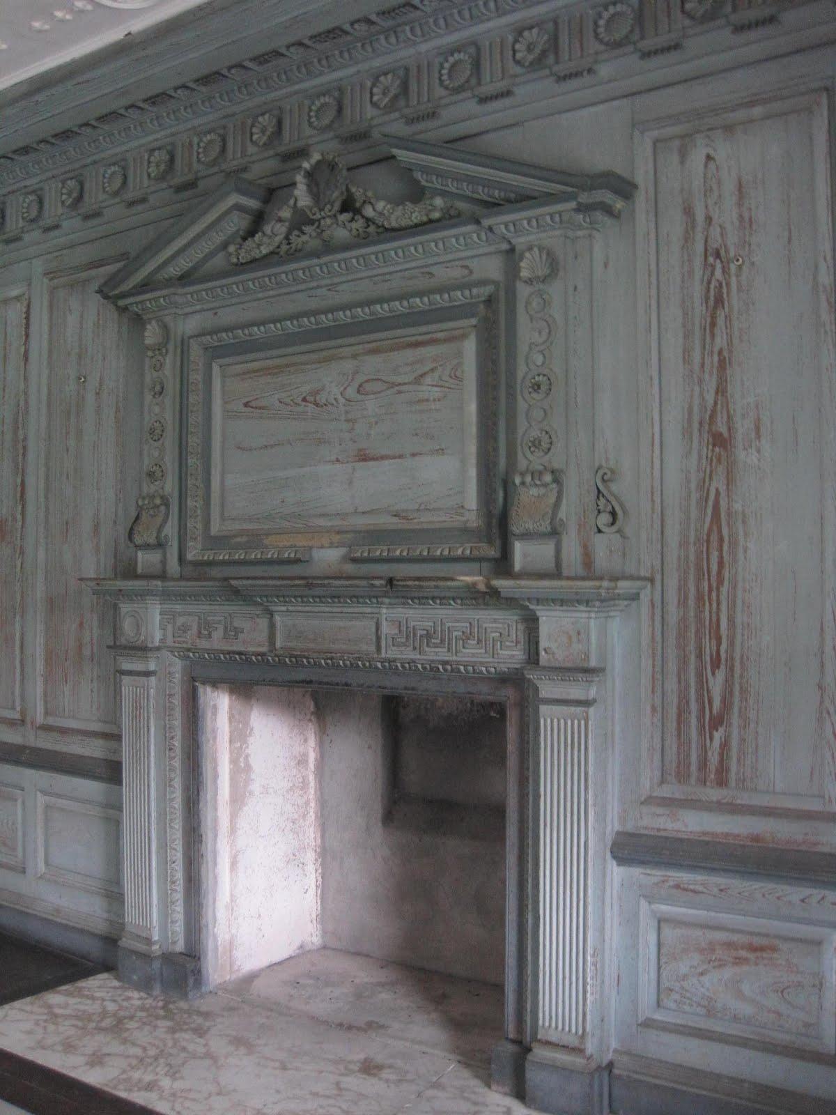 George interior design drayton hall georgian palladian for Hall window design