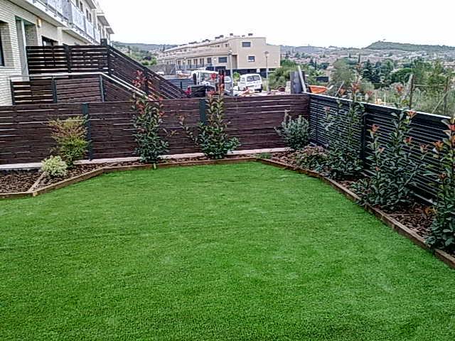 Jardineria paisajes dise o y construccion de jardines Diseno de jardines pequenos sin cesped
