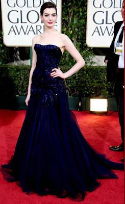 Anne Hathaway Golden Globes 2009