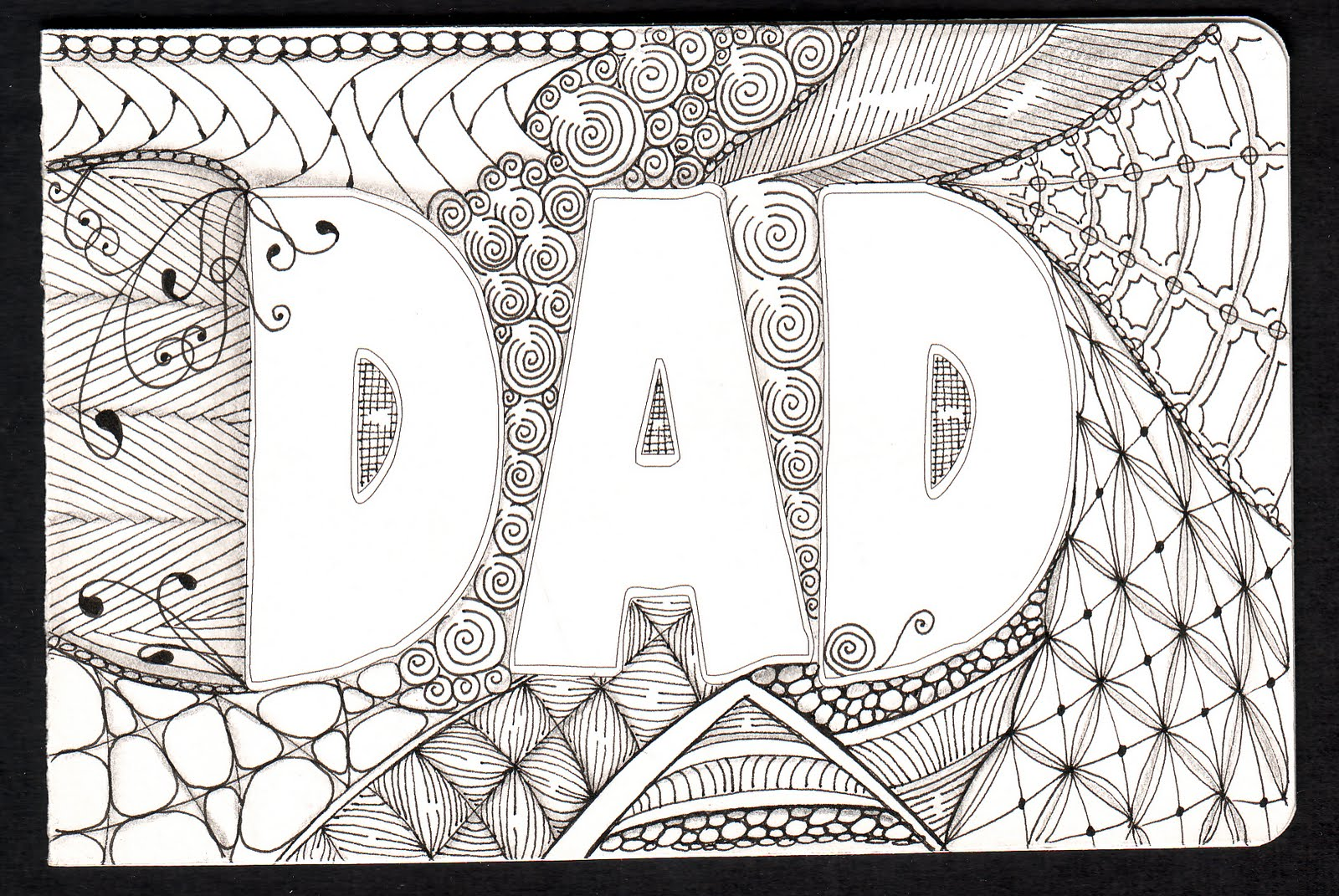 Shelly Beauch Dads Birthday Card – Happy Birthday Card Dad